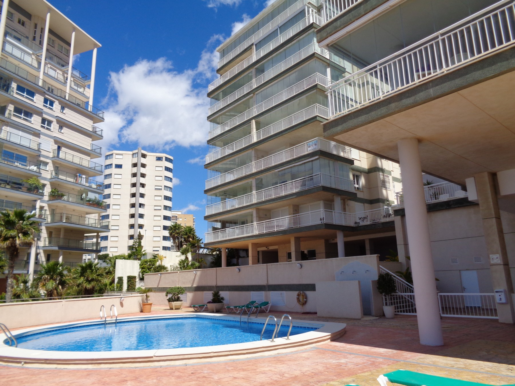 A108 Club Nautico B 2º 3 Calpe Calp Apartment